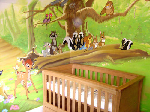 childrens wall painting